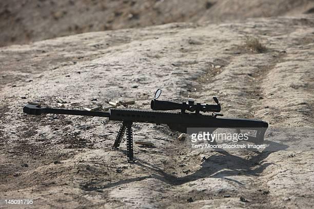 The Barrett M82A1 sniper rifle.