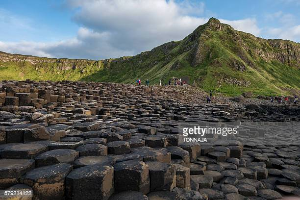 The Basalt Columns at Giant's Causeway, Northern Ireland
