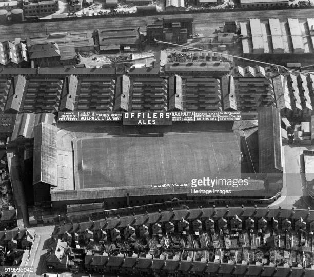 The Baseball Ground, Derby, Derbyshire, 1952. The home of Derby County Football Club from 1895 until 1997, demolished in 2003-2004. The site has been...