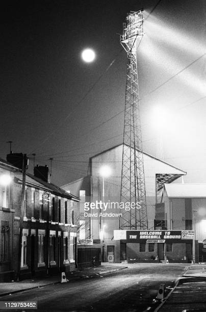 The Baseball Ground home of Derby County FC 8th March 1993