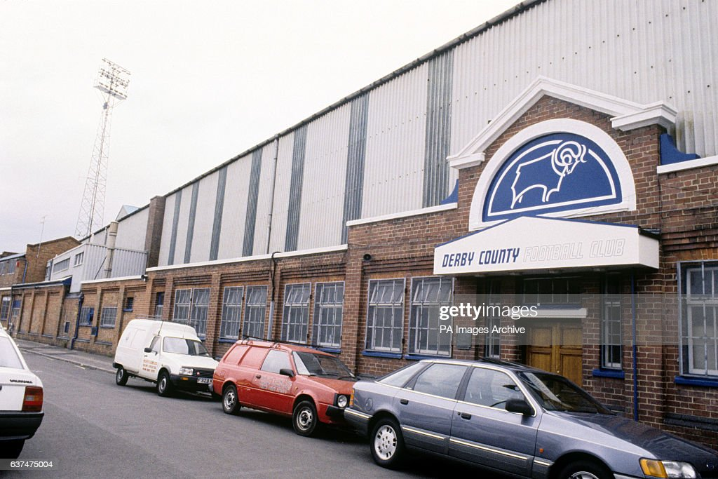 The Baseball Ground, home of Derby County