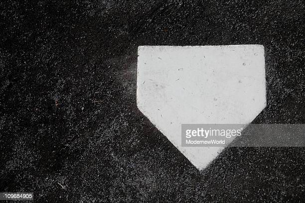 the baseball home plate - home base sports stock pictures, royalty-free photos & images