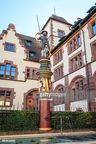 the basel-stadt state archive (staatsarchiv basel-stadt), basel, switzerland - stadt stock pictures, royalty-free photos & images