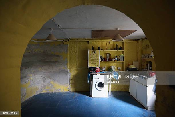 The basement of Sandycombe Lodge the former home of landscape painter Joseph Mallord William Turner which has been placed on English Heritage's...