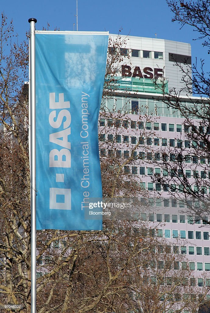 The BASF headquarters stand in Ludwigshafen, Germany, on