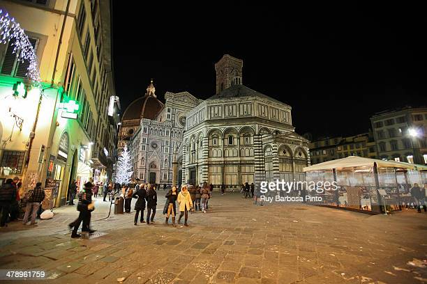 The Basilica di Santa Maria del Fiore is the main church of Florence, Italy. Il Duomo di Firenze, as it is ordinarily called, was begun in 1296 in...