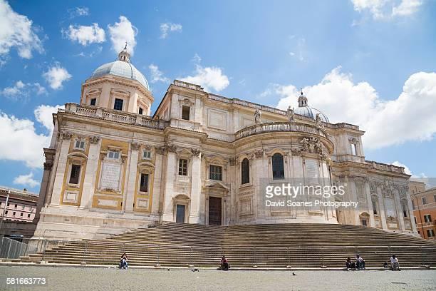 The Basilica di Santa Maria Maggiore, Rome, Italy