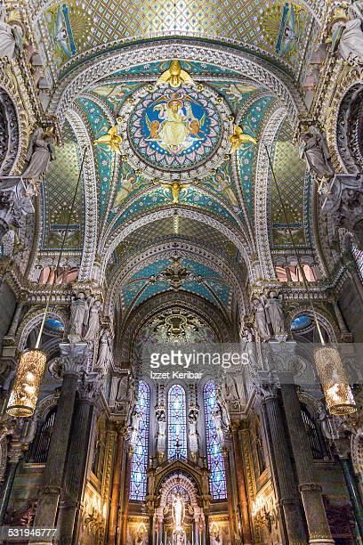 The Basilica of Notre-Dame de Fourviere