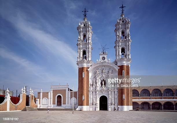 The Basilica of Ocotlan 18th century near Tlaxcala Mexico