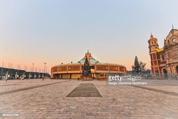 the basilica of our lady of guadalupe - mexico city, mexico - basilica of our lady of guadalupe stock pictures, royalty-free photos & images