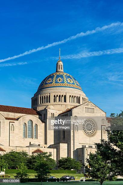 The Basilica of the National Shrine of the Immaculate Conception in Washington DC