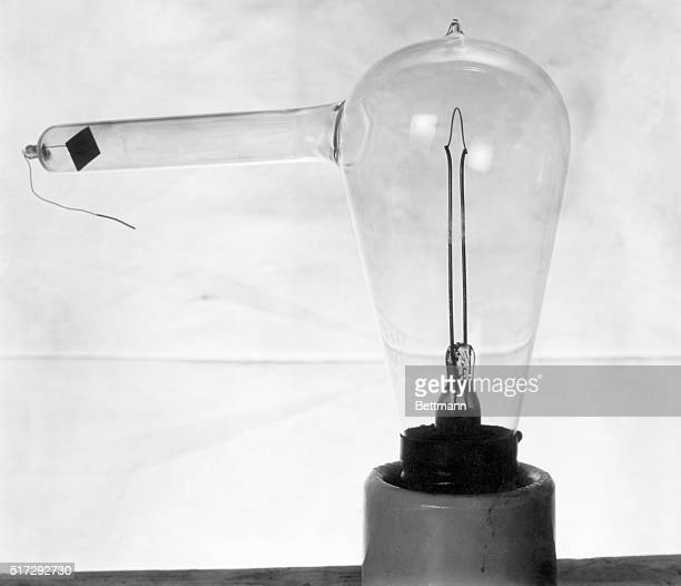 The basis for the first incandescent lamp