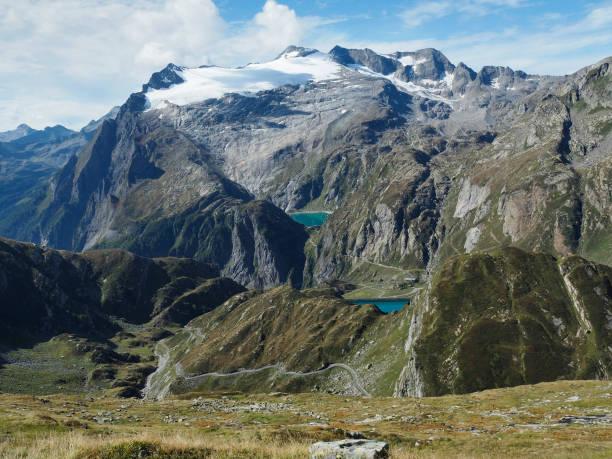 The Basodino Glacier, Lago Zott, Lago di Robiei, Switzerland