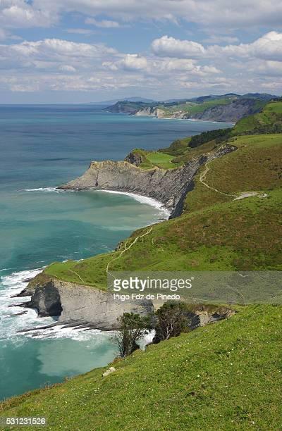 The Basque coast - Zumaia - Guipuzcoa - Basque Country - Spain