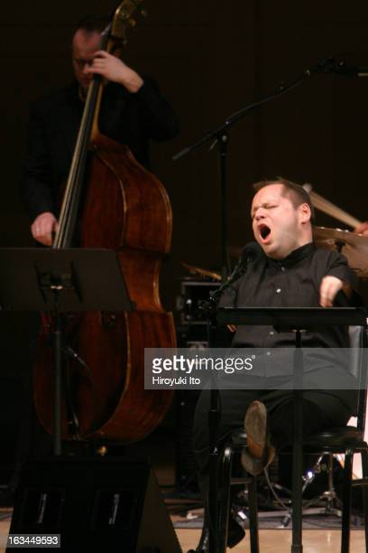 The bassbaritone Thomas Quasthoff performing in the program An American Songbook at Carnegie Hall on Wednesday night March 7th 2007This imageThomas...