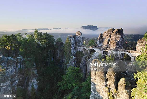 The Bastei - Landmark in the Saxon Switzerland