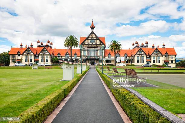 The Bath House (Rotorua Museum) in Rotorua, New Zealand