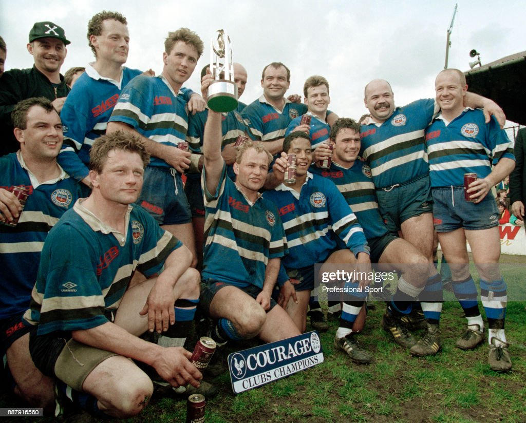 a9ee609260d The Bath team celebrate winning the Courage League Championsip after ...