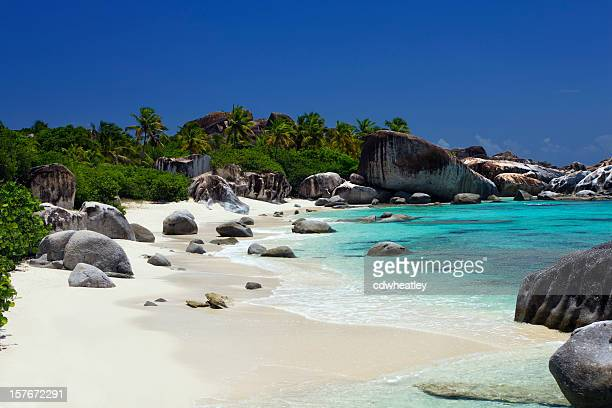 The Baths - beautiful beach in Virgin Gorda, BVI