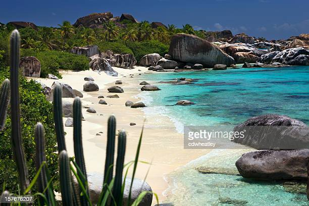 The Baths - beautiful untouched beach in Virgin Gorda, BVI