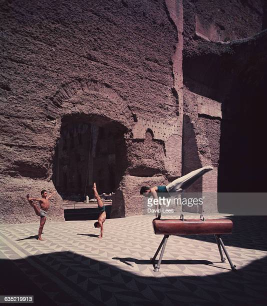 The Baths of Caracalla were the home for gymnastic competitions during the 1960 Rome Olympics The baths are the second largest remaining Roman ruin...