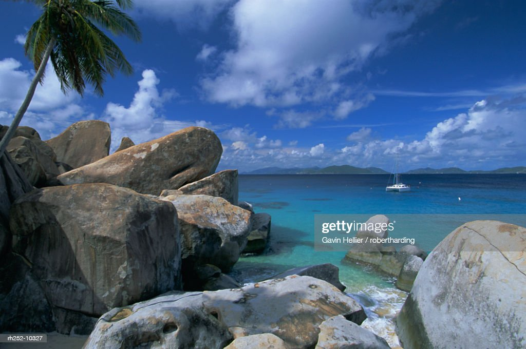 The Baths, Virgin Gorda, British Virgin Islands, Caribbean, Central America : Stockfoto