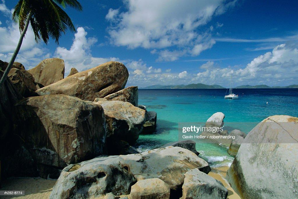 The Baths, Virgin Gorda, British Virgin Islands, Caribbean, West Indies, Central America : Stockfoto