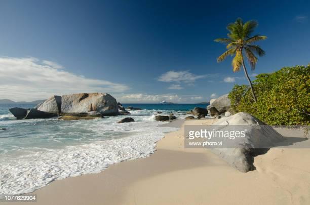 the baths virgin gorda british virgin islands  (5 images) - islas de virgin gorda fotografías e imágenes de stock
