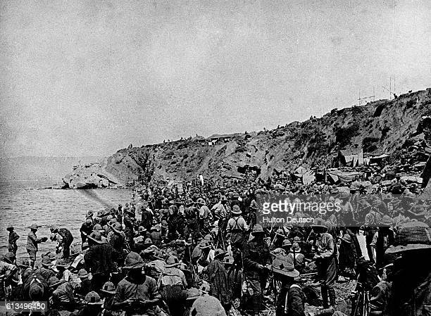 The battle between Allied forces and Turkish forces at the Gallipoli Peninsula for access to the strategic Sea of Mamora and eventually to...