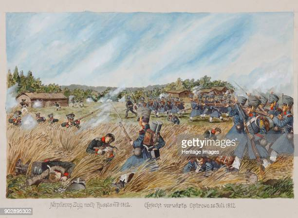 The Battle near Ostrovno on 25 July 1812 Private Collection