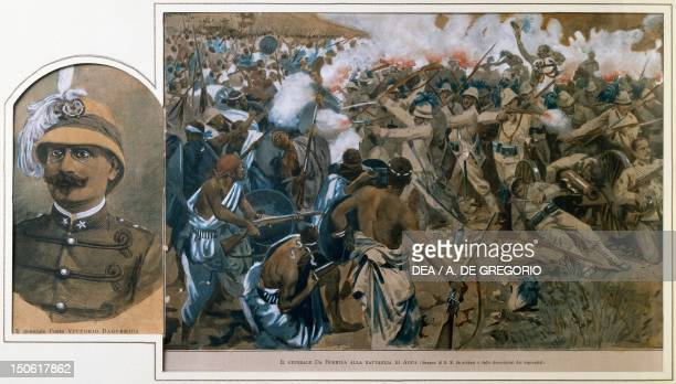 The Battle of Adwa in 1896 War in Abyssinia Ethiopia 19th century