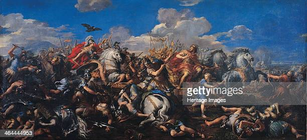 The Battle of Alexander Versus Darius 16441655 Found in the collection of the Musei Capitolini Rome