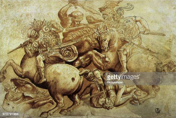 The Battle of Anghiari 1500 Leonardo da Vinci 1500