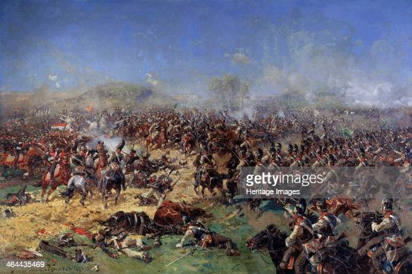 The Battle of Borodino on August 26, 1812  Third French Attack