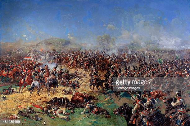 'The Battle of Borodino on August 26 1812 Third French Attack' 1913 The Battle of Borodino was the largest and bloodiest single day battle of the...