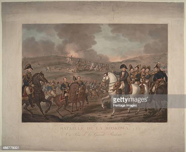 The Battle of Borodino on August 26 1825. Artist: Vernet, Carle