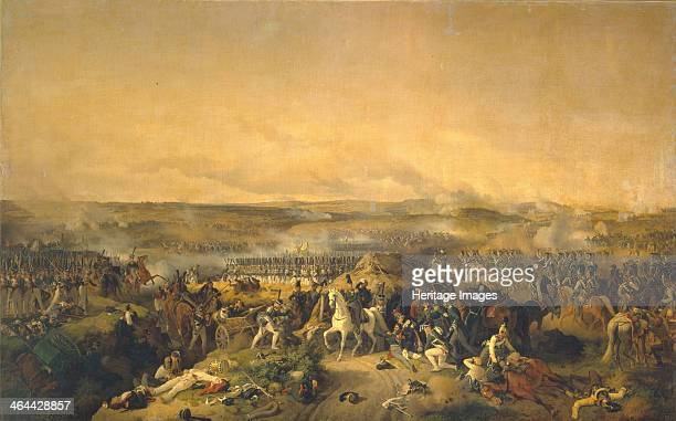 The Battle of Borodino on August 26 1843. Found in the collection of the State Hermitage, St. Petersburg.