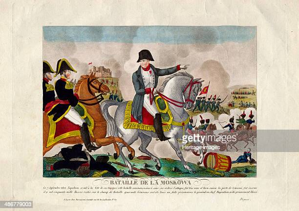 The Battle of Borodino on August 26 ca 1812 Artist Anonymous