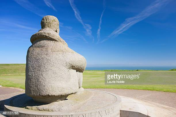 the battle of britain memorial, capel-le-ferne - battle of britain stock pictures, royalty-free photos & images
