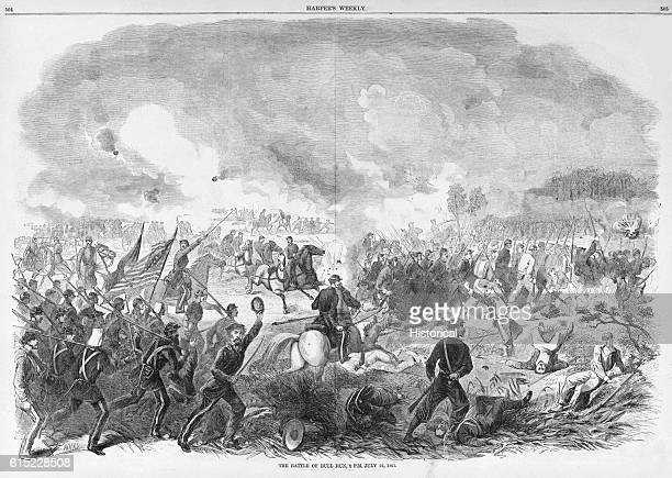 The Battle of Bull Run 2 PM July 21 1861