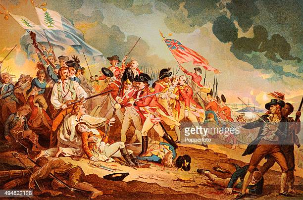The Battle of Bunker Hill near Boston on 17th June 1775 when the American revolutionaries though defeated showed that they could stand up to the...