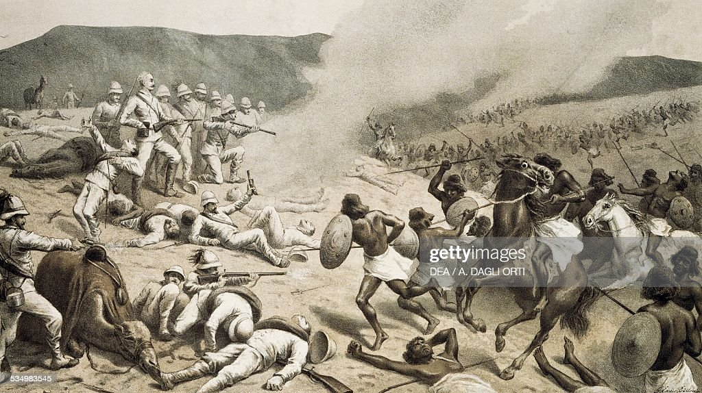 The Battle of Dogali January 26 1887 Italian Colonialism in East Africa 19th century Bologna Museo Civico Del Risorgimento