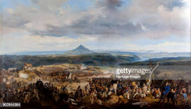The Battle of Giesshuebel on 1813 Found in the Collection of State History Museum Moscow