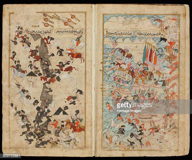 The Battle of Keresztes in 1596 From Manuscript Mehmed III's Campaign in Hungary Found in the collection of The David Collection