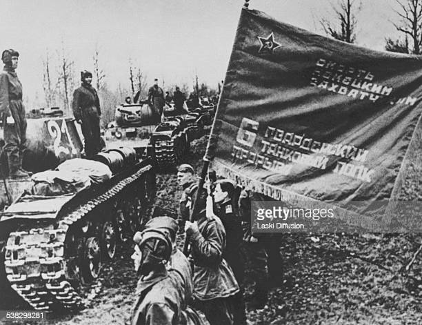 The Battle of Kursk a World War II battle between German and Soviet forces on the Eastern Front fought from July 5 till August 23 1943 in Russia