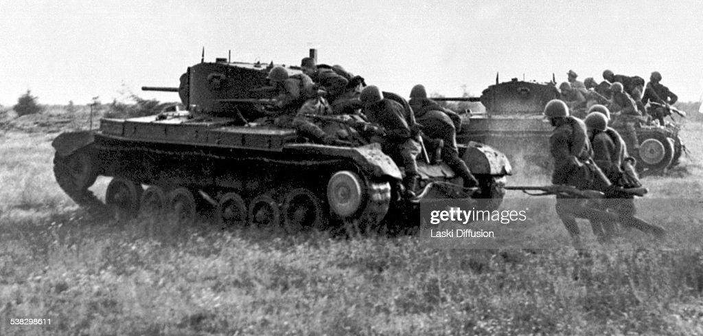 World War II - Battle of Kursk : News Photo