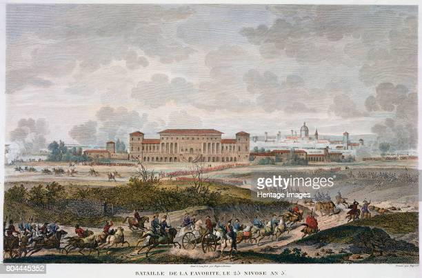 The Battle of La Favorite Italy 25 Nivose Year 5 An engagement during Napoleon's campaign against the Austrians in Italy during the French...