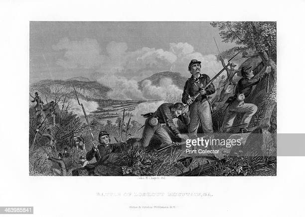 The Battle of Lookout Mountain Tennessee 24 November 1863 The Battle of Lookout Mountain formed part of the Third Battle of Chattanooga The Union...