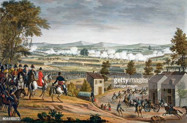 The Battle of Lutzen, 2nd May 1813. With a Prusso-Russian army of some 100,000 men moving on a small French force at Leipzig, Napoleon Bonaparte...