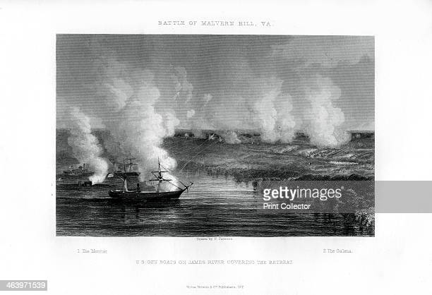 The Battle of Malvern Hill Virginia 1 July 1862 The gunboats 'Monitor' and 'Galena' covering the retreat The Battle of Malvern Hill was the last...